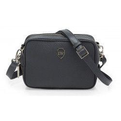 Elephant grey on Nicole mini shoulder bag from www.leowulff.com! #leowulff