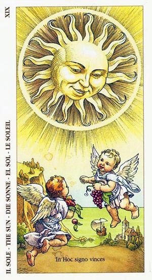 Free Daily Tarotscope -- Jun 21, 2015 -- The Sun -- The Sun moves into Cancer today, marking the Summer Solstice and the longest day of the year, measured by the amount of time between Sunrise and Sunset. This is true for those in the Northern Hemisphere; it's exactly the opposite (Winter solstice and shortest day of the year) for those in the Southern Hemisphere. (more)....