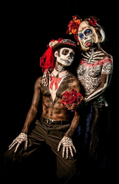 day of the dead couple - photo #15