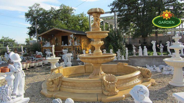 Közéri szökőkutak kőből közvetlen a gyártótól! Polgármesterek, rendezvényházak, vendéglátóhelyek figyelmébe ajánljuk oldalunkat. http://www.kerti-aruda.hu/ Köztéri virágládák, szobrok, kerékvetők, biciklitartók.