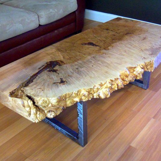 Lane Burl Wood Coffee Table: 7 Best Buckeye Burl Slab Tables Images On Pinterest