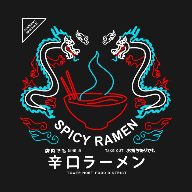 f419ad06c56 Check out this awesome 'Destiny 2 Spicy Ramen Shop' design on ...