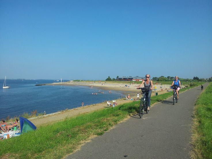 Een prachtige fietsroute langs de Oosterschelde begint direct voor deur van Residence Weumelinghe.