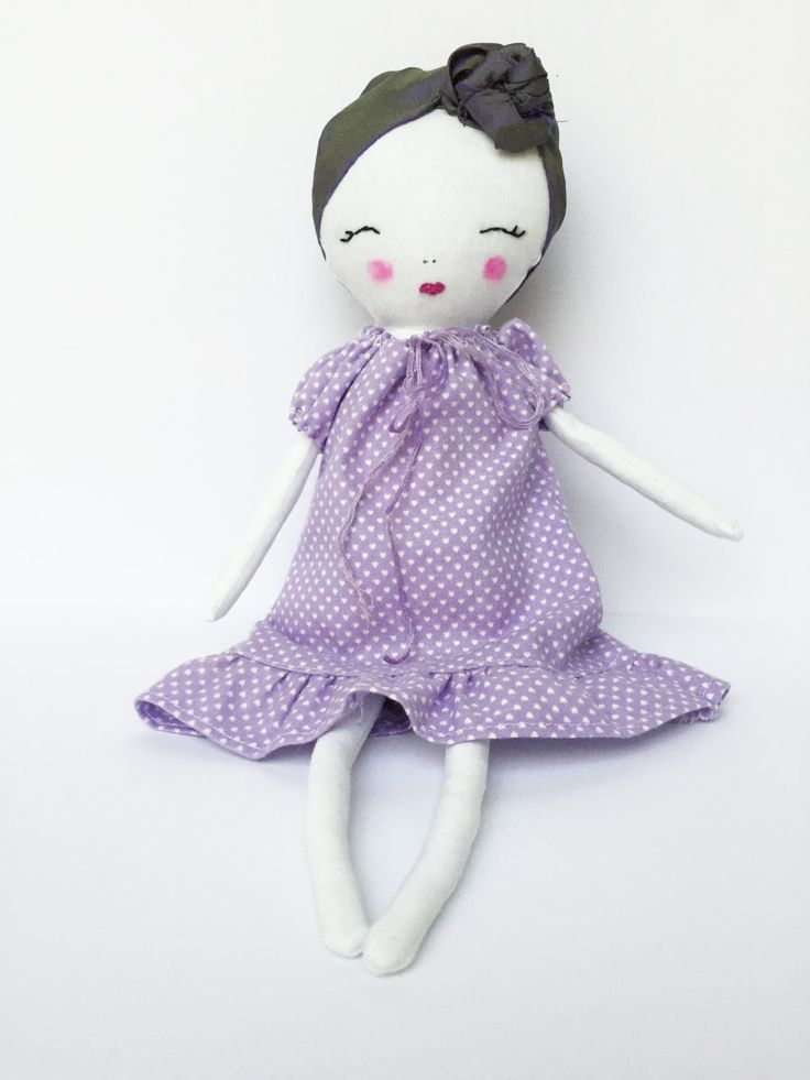 Rag Doll - Soft Sculpture Doll - Miss Muffet Dolls - Cloth Doll - Handmade Doll - Christmas Gift - Holidays Gift - Cute Doll by MissMuffetDolls on Etsy