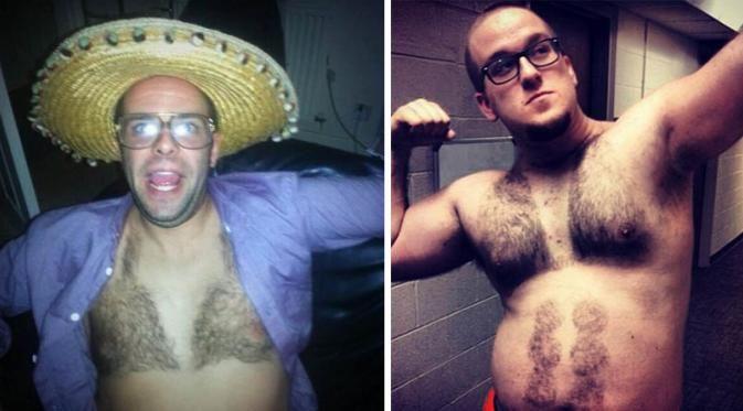 Hair Bikini: Tren Pria Berbulu Dada dengan Bikini Permanennya