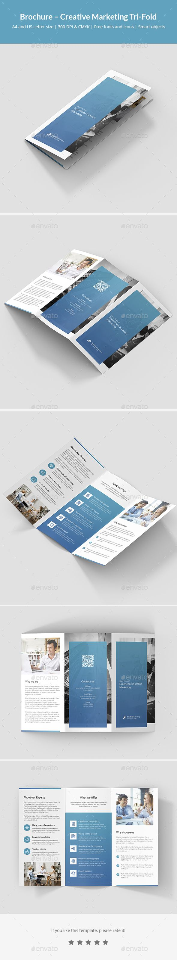 Brochure  Creative Marketing TriFold