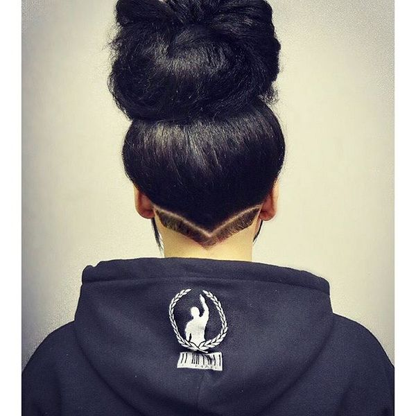 high updo protective hair for summer 2016