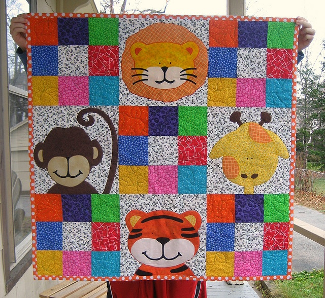 15 best jungle baby handmade images on Pinterest | Jungles ... : jungle theme baby quilt patterns - Adamdwight.com