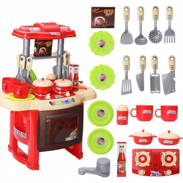 Kitchen Toys Set Children Pretend Play Role Play Set Toys Pricesolution4u Cooking Toys Pretend Play Kitchen Toy Kitchen Set