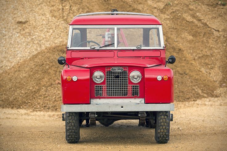 1966 Land Rover Series IIA Recovery Truck | HiConsumption