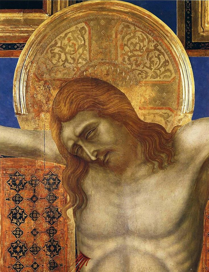 Ugolino Di Nerio, Painted Cross detail - Уголино ди Нерио — Википедия. Расписной крест(фрагмент). ц. Санта Мария деи Серви, Сиена.