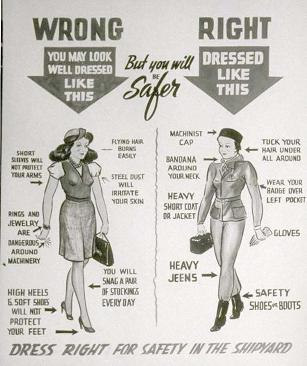 War Factory women dress code