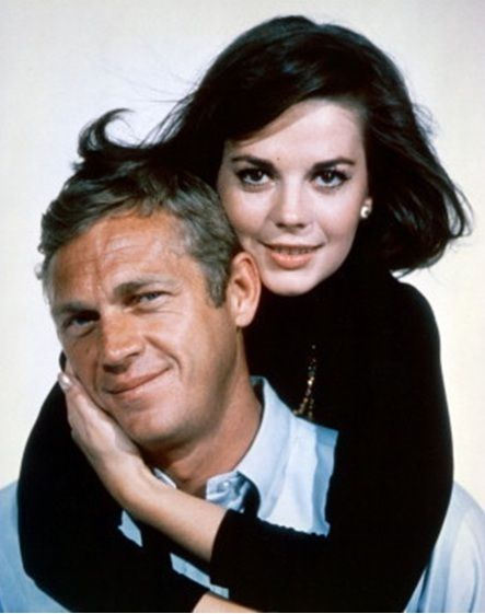 Natalie Wood with Steve McQueen - publicity photo for Love With A Proper Stranger (1963)