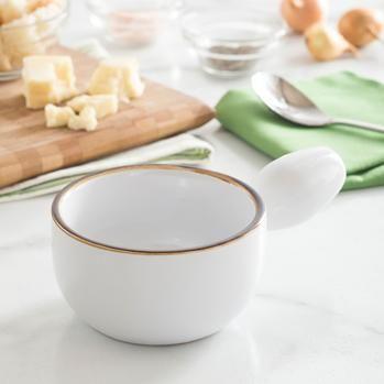 KSP Tuscana Onion Soup Bowl (White)