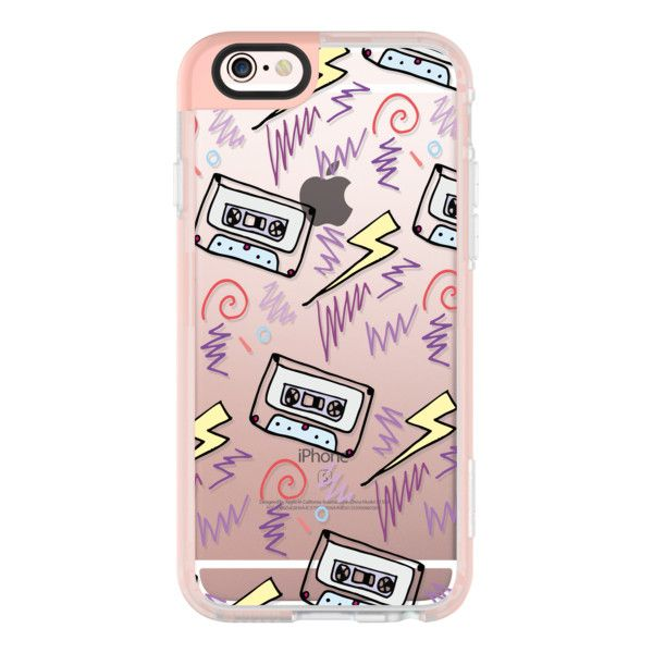 iPhone 6 Plus/6/5/5s/5c Case - OLD SCHOOL MUSIC ($40) ❤ liked on Polyvore featuring accessories, tech accessories, iphone case, iphone cases, iphone hard case, iphone cover case and apple iphone cases