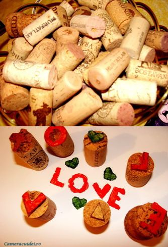 DIY cork stamps. This would be a nice family activity   #cork #stamp #tutorial