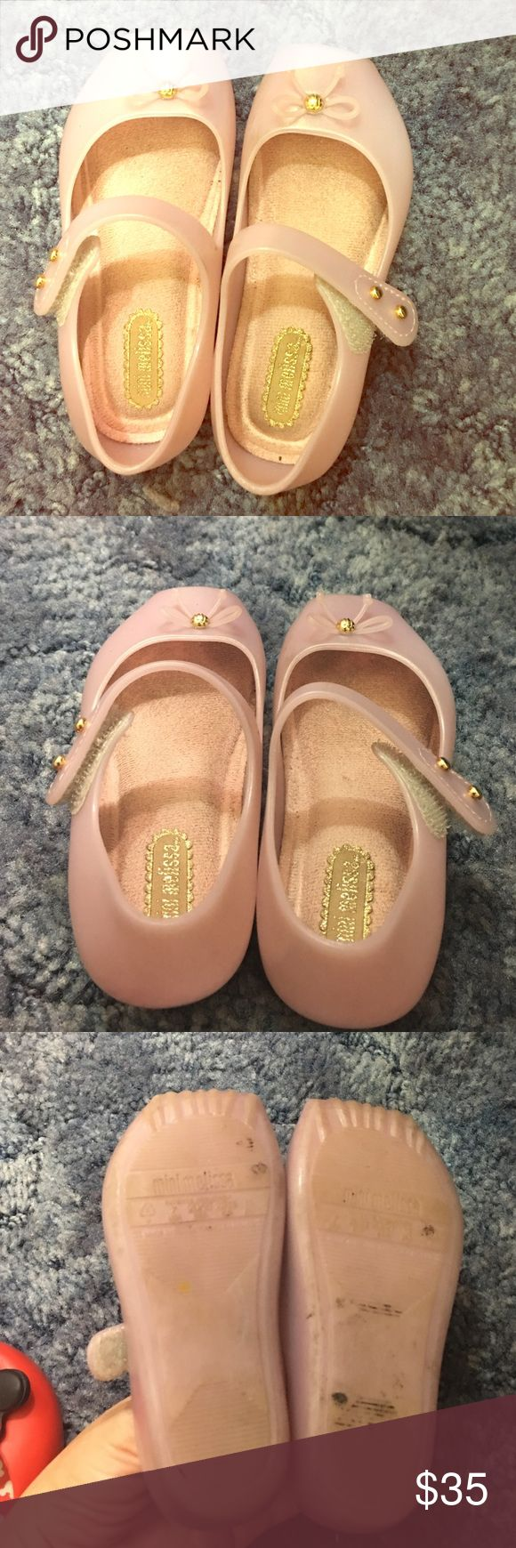 Mini Melissa shoes for sale Pink Toddler Mini Melissa for sale size 7 Mini Melissa Shoes Baby & Walker