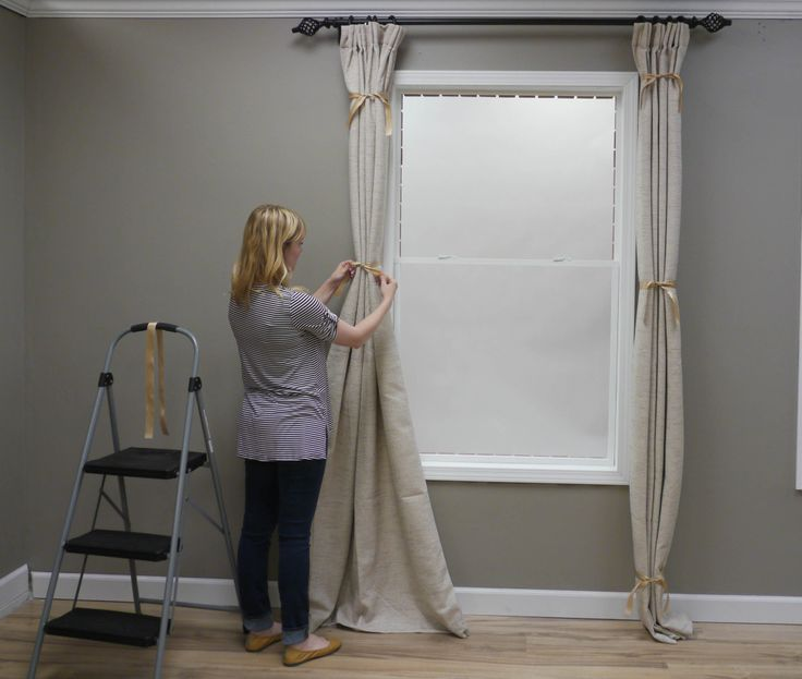 98 best images about layered windows on pinterest curtains hacks and window treatments. Black Bedroom Furniture Sets. Home Design Ideas