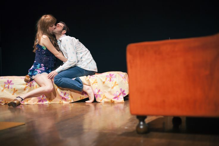 http://www.kevo.biz/ Theatre show in Firenze, a piece by Dacia Maraini. A conversation between a prostitute and her client. Exploring the condition of women and the role of men in society.