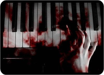 (Open RP) I couldn't stop playing the piano. It wasn't for my love and passion for the music but the need and desperation to live. If I stoped playing for my master he would have me beheaded. I have played for three days straight.I was exhausted and almost unconscious. I couldn't feel my fingers any more, they have been bleeding sice yesterday afternoon.The keys were coated in blood. My body falls limp with exhaustion and I start to fall off the bench when strong arms wrap around me. ((Be…