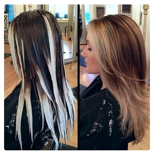 Free hand color is the best ☕. #hair #stylist #dolledup #fashion #salon…