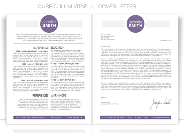 11 best CV Clean images on Pinterest Resume, Curriculum and Resume - sample application cover letter template