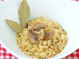 Receta del delicioso Arroz con Champiñones delicocina.com