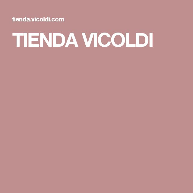 TIENDA VICOLDI