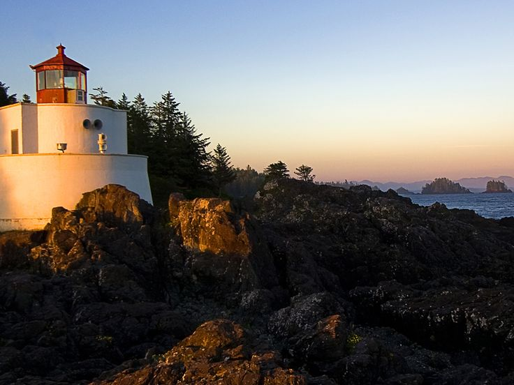 Lighthouse at the coast of Oregon