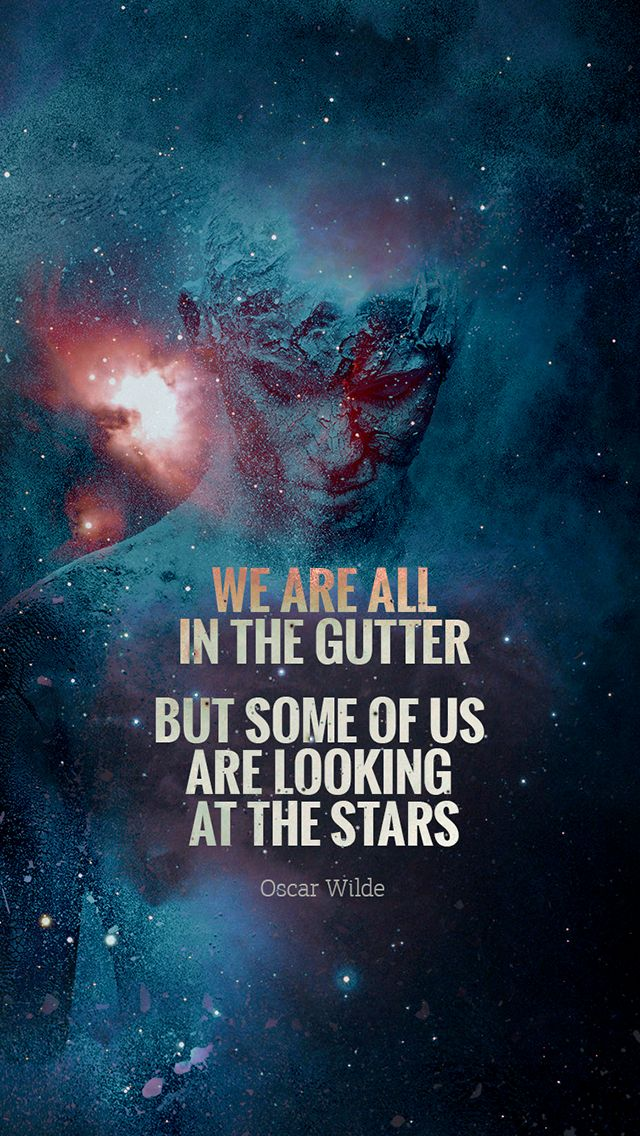 ↑↑TAP AND GET THE FREE APP! Art Creative Space Stars Dust Milky Way Multicolor Quotes HD iPhone Wallpaper