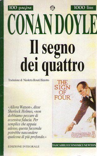 """""""Sherlock Holmes: Il segno dei quattro"""" by A. C. Doyle"""
