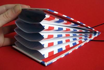 Airmail envelopes accordion file folder, must-try