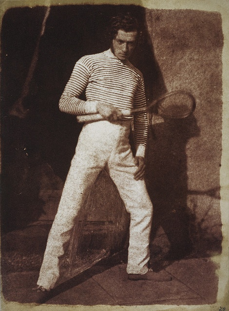1840s Gentleman in tennis gear  Awwwwww yeah.  I can't believe I inadvertently wound up putting Brunel is historically accurate clothes.