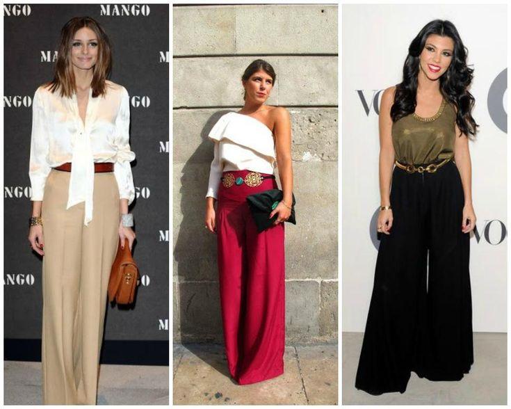 Looks para Invitadas: Triunfa con el pantalon Palazzo | Preparar tu boda es facilisimo.com