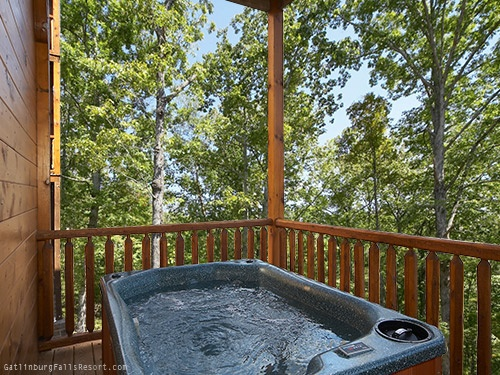 This 2 Bedroom Luxury Gatlinburg Cabin Rental Is Located In The Beautiful  Gatlinburg Falls Hidden Valley