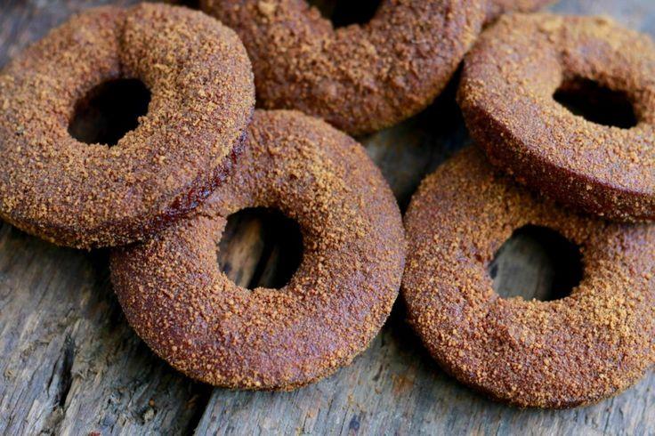 Pumpkin Spice Donuts (gluten, grain, nut, and dairy free) -