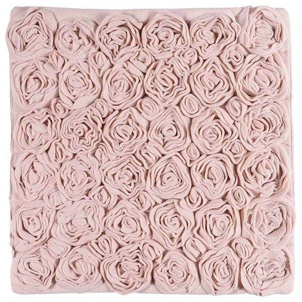 Aquanova Rose Bath Mat - Blush - 60x60cm featuring polyvore, home, bed & bath, bath, bath rugs, pink, pink bath mat, pink bathroom rugs and rose bath mat