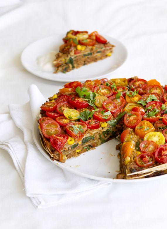 Tortillapaj, vegansk såklart