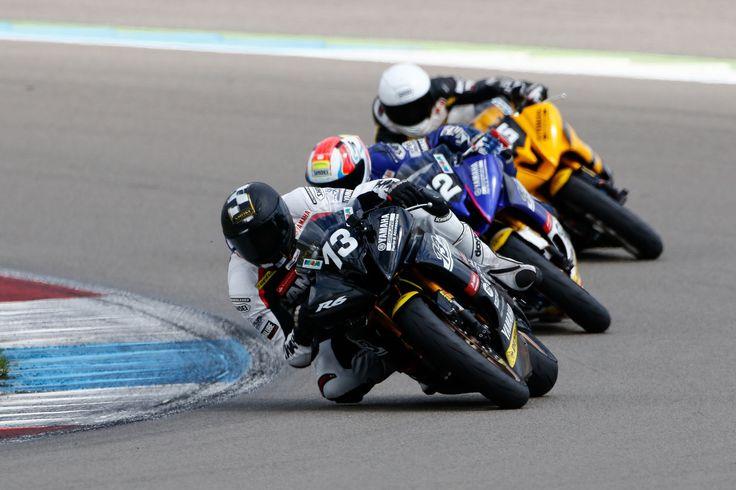 2016 Yamaha R6 Dunlop Cup   Round 6 Assen Race Onboard
