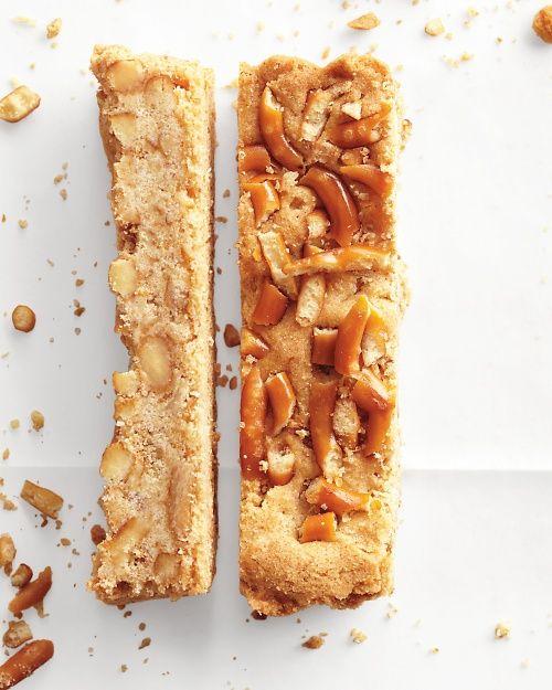 Pretzel-Shortbread Bars Recipe