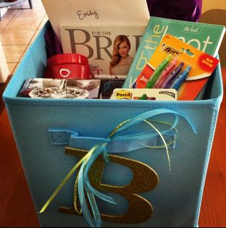 Engagement Gift: Bride-to-Be Box of Goodies!