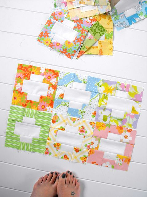 """Pattern for this is:  """"Inside Out"""" from http://www.cluckclucksew.com/2012/04/inside-out.html: Craft, Quilts Cross, Sewing Quilts, Quilt Patterns, Dream, Quilts Blocks, Quilt Blocks, Block Patterns"""