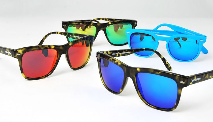 Spektre Sunglasses and its Mirror Madness collection. Ready for this summer?