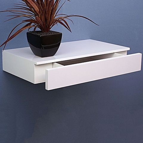 Cassetto Floating Shelf With Drawer In 2019 Decorating