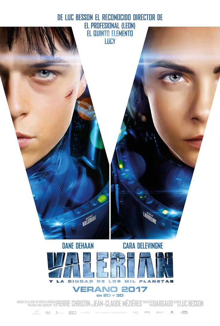 2017 - Valerian y la ciudad de los mil planetas - Valerian and the City of a Thousand Planets