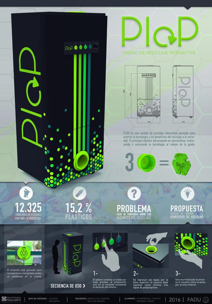 Unidad de reciclaje PLOP // Trabajo grupal: Altamiranda, Campos, Taborda, Vanzo.