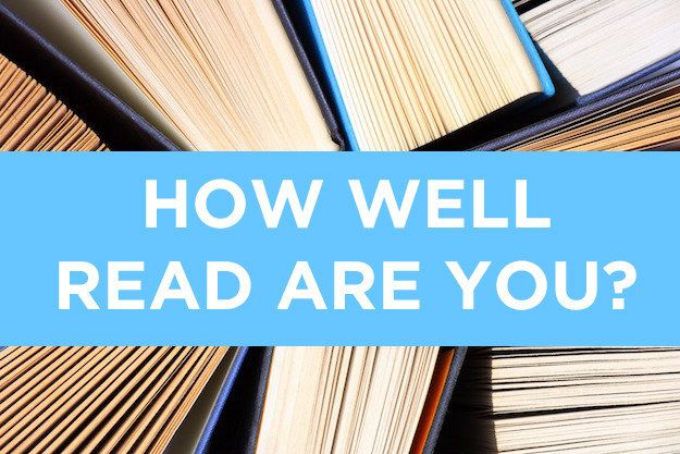 How Well-Read Are You?