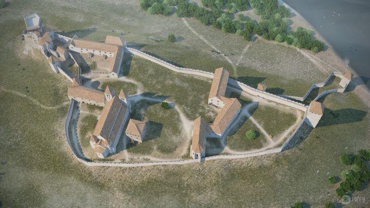 Az esztergomi Várhegyen a királyi palota építését Géza fejedelem kezdte el a X. század utolsó harmadában....