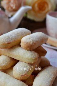 DOLCISOGNARE: Biscotti al latte