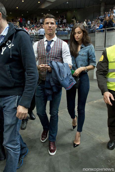 Irina Shayk and Christiano Ronaldo